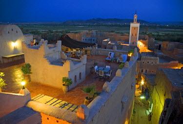 HMS0163621 Morocco, Ouarzazate, Taourirt Kasbah, Dar Kamar Hotel