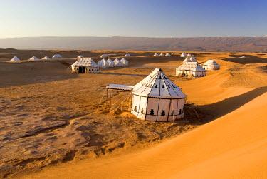 HMS0179697 Morocco, Chigaga Dunes, Iriqui, Camp Nomade des Dunes Resort