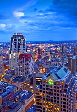 US03387 Massachusetts, Boston, Downtown, Office Buildings