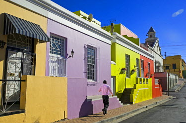 HMS0385578 South Africa, Western Cape, Cape Town, Malay District of Bo Kaap