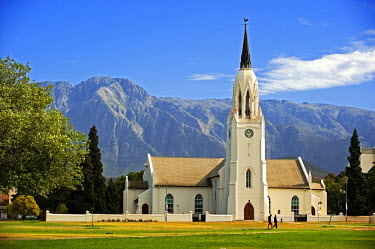 HMS0385686 South Africa, Western Cape, Route 62, Garden Route, Worcester, church