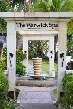 FIJ1027AW Spa in The Warwick Hotel, Coral Coast, Viti Levu, Fiji (PR)