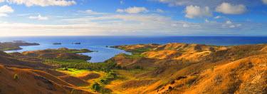 FIJ1115AW View of Nacula Island, Yasawa Islands, Fiji