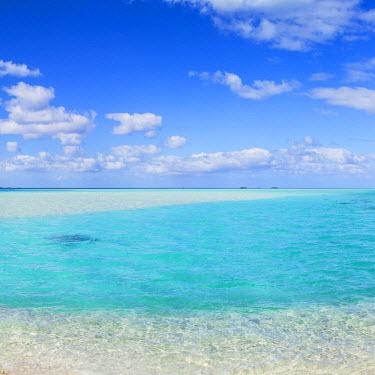 FPO0432AW Blue Lagoon, Fakarava, Tuamotu Islands, French Polynesia