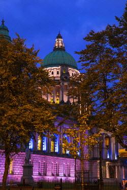 UK04055 United Kingdom, Northern Ireland, Belfast, City Hall
