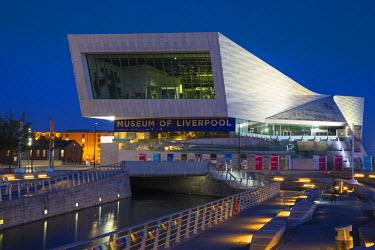 UK07680 United Kingdom, England, Merseyside, Liverpool, Museum of Liverpool