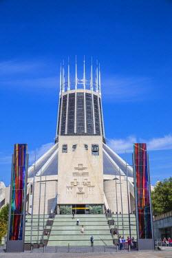 UK07691 United Kingdom, England, Merseyside, Liverpool, Metropolitan Cathderal