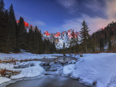 CLKRM28197 Venagia Valley Panaveggio Natural Park Dolomites Trentino Alto Adige Italy Europe