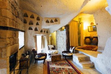 TUR0964 Turkey, Central Anatolia, Cappadocia, Goreme, Antalolia Houses Boutique Hotel, Unesco World Heritage site