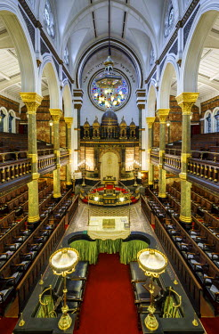ENG12655AW United Kingdom, England, London, Bayswater, New West End Synagogue
