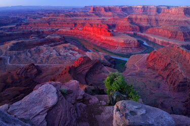 USA10493AW USA, Southwest, Colorado Plateau, Utah,Deadhorse Point State Park, Colorado river
