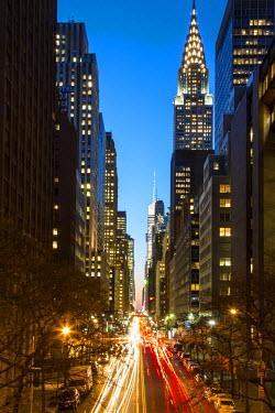 US60609 Chrysler Building, Manhattan, New York City, New York, USA