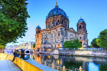 GER8821AW Germany, Deutschland. Berlin. Berlin Mitte. Berlin Cathedral, Berliner Dom.