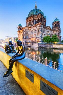 GER8822AW Germany, Deutschland. Berlin. Berlin Mitte. Berlin Cathedral, Berliner Dom.