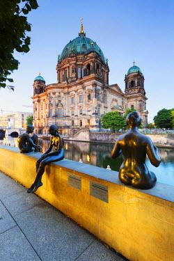 GER8823AW Germany, Deutschland. Berlin. Berlin Mitte. Berlin Cathedral, Berliner Dom.