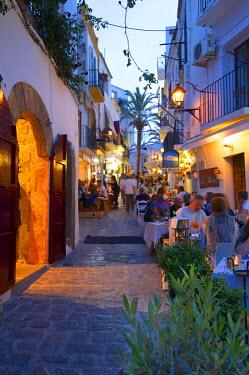 SPA6647AW Restaurant in Dalt Vila, Ibiza Townt, Ibiza, Balearic Islands, Spain