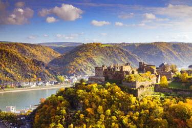 GER8946AW Burg Rheinfels, Sankt Goar, Rhineland-Palatinate, Germany