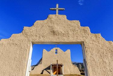 USA10517AW North America, United States of America, New Mexico, Picuris, San Lorenzo de Picuris