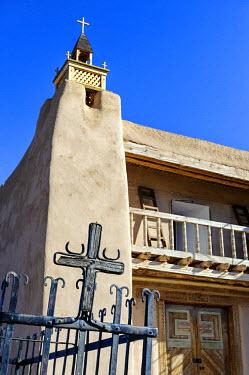 USA10519AW North America, United States of America, New Mexico, Las Trampas, San Jose de Gracia Church