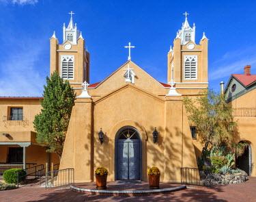 USA10521AW North America, United States of America, New Mexico, Albuquerque, San Felipe de Neri Parish