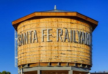 USA10549AW North America, United States of America, New Mexico, Santa Fe, Santa Fe Railyard