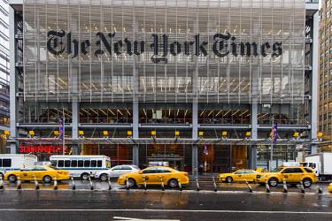 USA10630AW The New York Times Building, Manhattan, New York, USA