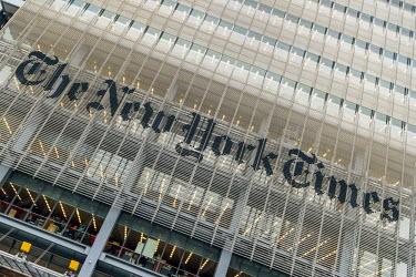 USA10631AW The New York Times Building, Manhattan, New York, USA