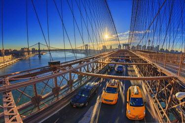 US60861 USA, New York City, Brooklyn Bridge