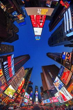 US60867 USA, New York City, Midtown Manhattan, Times Square