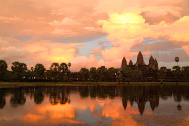 HMS2025413 Cambodia, Siem Reap Province, Angkor Temples complex, listed as World Heritage by UNESCO, Angkor Wat�