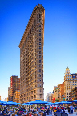US61106 USA, New York, New York City, Manhattan, Flatiron Building