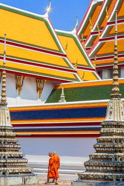 HMS1812180 Thailand, Bangkok, Phra Nakhon, Temple of the Reclining Buddha Wat Po (Wat Phra Chettuphon) founded in the 16th century