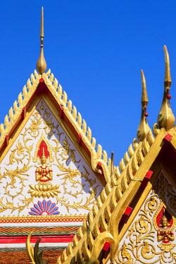 HMS1812219 Thailand, Bangkok, Bang Rak district, Buddhist temple Wat Suan Plu