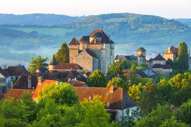FR05606 Village of Curemonte, Correze, Limousin, France