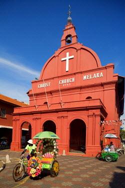 HMS0202132 Malaysia, Malacca state, Malacca, historical center, Christ Church