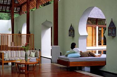 HMS0230766 Malaysia, Kedah State, Langkawi Island, Four Seasons Hotel, spa