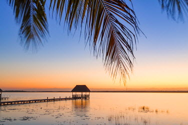 MEX1734AW Laguna Bacalar, Quintana Roo, Mexico