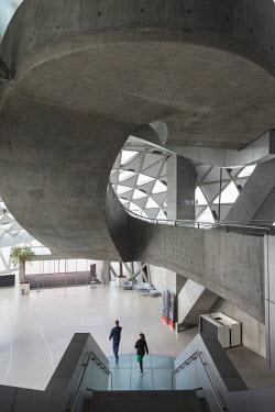 DK02156 Denmark, Jutland, Aalborg, Musikhuset, performing arts center, interior