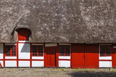 Denmark, Funen, Svendborg, buildings of the Hvidekilde Estate