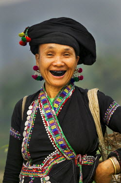 AS38JFO0025 Asia, North Vietnam, Montagnard Woman