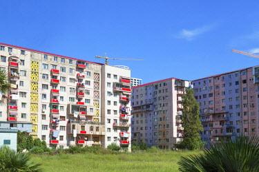 AS08ALA0190 Georgia, Batumi. Series of apartment complexes in Batumi.