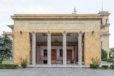 AS08ALA0246 Georgia, Gori. Stalin's childhood home, an annex of the Joseph Stalin Museum.