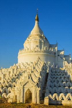 AS06IHO0486 Myanmar. Mandalay. Mingun. Hsinphyumae Pagoda.