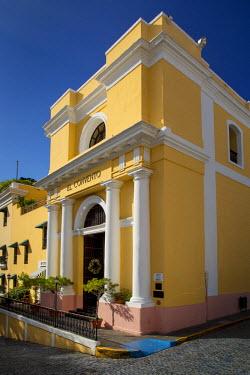 CA27BJN0033 El Convento Hotel, converted Convent in Plazuela de las Monjas, San Juan, Puerto Rico