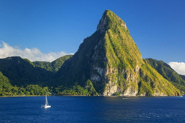 CA33BJN0014 Petite Piton near Soufriere, St. Lucia, West Indies