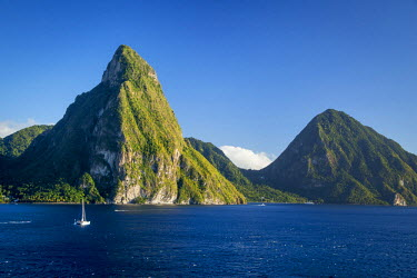 CA33BJN0015 Petite Piton near Soufriere, St. Lucia, West Indies