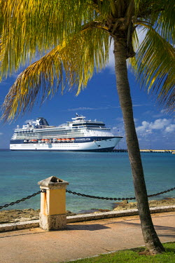 CA37BJN0040 Celebrity Constellation cruise ship docked at Frederiksted, St. Croix, US Virgin Islands, West Indies