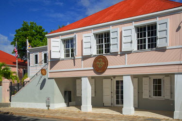CA37BJN0042 Supreme Court Building of the US Virgin Islands, Frederiksted, St. Croix, US Virgin Islands, West Indies