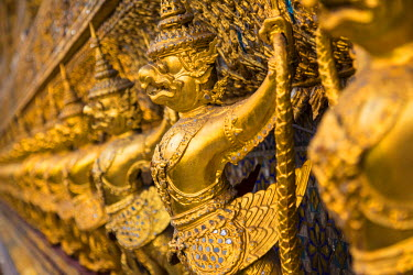 TH01324 Wat Phra Kaew (Temple of the Emerald Buddha), Bangkok, Thailand