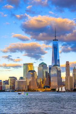 US61314 USA, New York, Manhattan, Lower Manhattan and World Trade Center, Freedom Tower